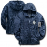 Rapid Dominance R37 Solid Military/ Law Windbreaker: Navy, Navy