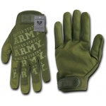 Rapid Dominance U01 Lightweight Mechanic's Glove: Olive, Army