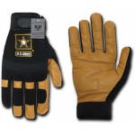Rapid Dominance U07 Mechanic's Gloves: Black, Army