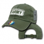 Rapid Dominance R21 Giant Stitch Military Polo Caps: Olive, Army