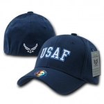 Rapid Dominance R82 Military/Law Flex Baseball Caps: Navy, Air Force