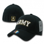 Rapid Dominance R82 Military/Law Flex Baseball Caps: Black, Army