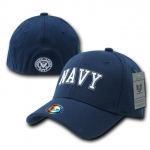 Rapid Dominance R82 Military/Law Flex Baseball Caps: Navy, Navy