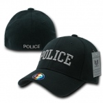 Rapid Dominance R82 Military/Law Flex Baseball Caps: Black, Police