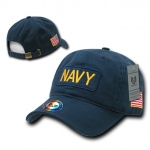 Rapid Dominance R89 Dual Flag Raid Caps: Navy, Navy