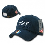 Rapid Dominance R89 Dual Flag Raid Caps: Navy, USAF