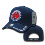 Rapid Dominance RD Embroidered Deluxe Military Baseball Cap: Navy, National Guard