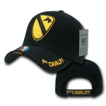 Rapid Dominance S001 The Legend Military Branch Cap: Black, 1st Cavalry