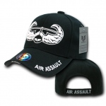 Rapid Dominance S001 The Legend Military Branch Cap: Black, Air Assault