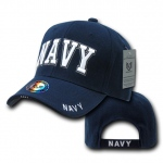 Rapid Dominance S001 The Legend Military Branch Cap: Navy, Navy Text