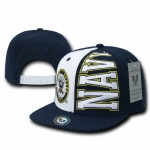 Rapid Dominance S004 Stack Up Military Caps: Navy, Navy