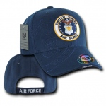 Rapid Dominance S007 Shadow Military Baseball Caps: Navy, Air Force