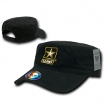 Rapid Dominance S009 The Private Military Caps: Black, Army Star