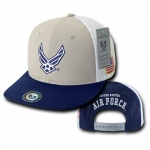 Rapid Dominance S010 Deluxe Mesh Military Caps: Air Force Wing