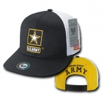 Rapid Dominance S010 Deluxe Mesh Military Caps: Army Star