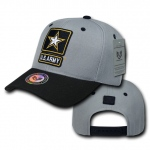 Rapid Dominance S015 Workout Branch Caps: Grey / Black, Army