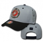 Rapid Dominance S015 Workout Branch Caps: Grey / Black, Marines