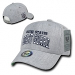 Rapid Dominance S016 Heather Grey Military Caps: Coast Guard