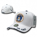 Rapid Dominance S22 Military Baseball Caps: White, Air Force