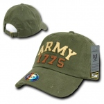 Rapid Dominance S80 Vintage Athletic Military Caps: Olive, Army