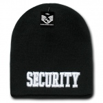 Rapid Dominance R90 Embroidered Military Law Knit Cap: Black, Security