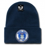 Rapid Dominance S81 Classic Military Beanies: Navy, Air Force, Long