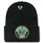 Rapid Dominance S81 Classic Military Beanies: Black, Army, Long