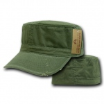 Rapid Dominance 101 Vintage BDU Fatique/Cotton Caps: Olive
