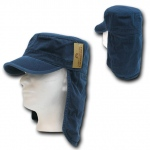 Rapid Dominance 107 Cotton Foreign Legion Cap/Flap Cap: Navy