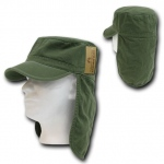 Rapid Dominance 107 Cotton Foreign Legion Cap/Flap Cap: Olive