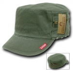 Rapid Dominance 35B Military Fatique Cap with Zipper: Olive