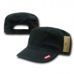 Rapid Dominance R04 Adjustable Patrol Fatigue Caps: Black