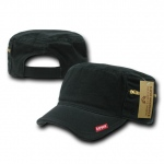 Rapid Dominance R05 Patrol Fatique Caps with Zipper: Black