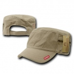 Rapid Dominance R05 Patrol Fatique Caps with Zipper: Khaki