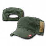 Rapid Dominance R05 Patrol Fatique Caps with Zipper: Olive