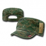 Rapid Dominance R05 Patrol Fatique Caps with Zipper: Woodland
