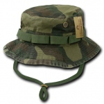 Rapid Dominance R70 ACU /Camo /OD Military Boonie Hats: Woodland