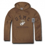 Rapid Dominance S45 Military Fleece Pullover Hoodies: Coyote, Marines