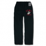 Rapid Dominance S58 Military Fleece Pants: Black, Marines