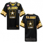 Rapid Dominance R11 Military Football Jersey: Black, Army Star
