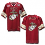 Rapid Dominance R11 Military Football Jersey: Cardinal, USMC