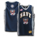 Rapid Dominance R14 Military Basketball Jersey: Navy, Navy