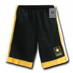 Rapid Dominance R18 Military Performance Short: Black, Army Star