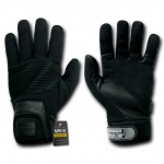 Rapid Dominance T16 Fast Rope Rescue Gloves: Black