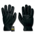 Rapid Dominance T18 Leather Shooting Gloves: Black