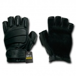 Rapid Dominance T20 Half Finger Tactical Gloves: Black
