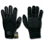 Rapid Dominance T22 Air Mesh-Digital Leather Gloves: Black