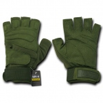 Rapid Dominance T23 Lightweight Half Finger Gloves: Olive