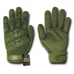 Rapid Dominance T24 Lightweight Mechanic's Gloves: Olive Drab