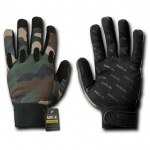 Rapid Dominance T27 Camo Woodland Tactical Gloves: Woodland
